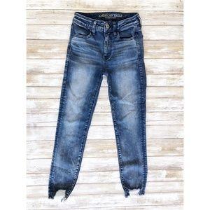 American Eagle Hi Rise Jegging Skinny Jeans 8417
